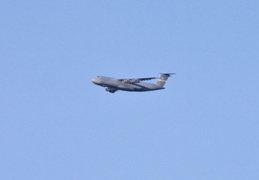 c 5a flying over our house