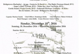 royal clipper bvi christmas 2016 000 leaving barbados 17th 18th daily activities dec 18th pg1