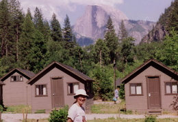 yosemite cabins and half dome
