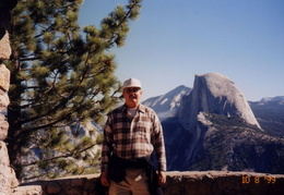 yosemite ernie and half dome 2