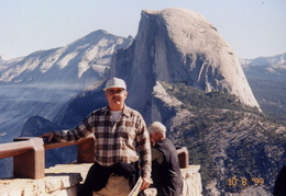 yosemite ernie and half dome 3