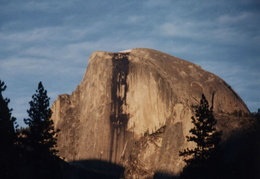 yosemite half dome at sunset 1