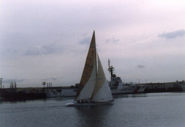 americas cup yachts 1992 06