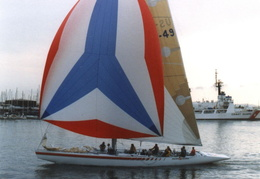 americas cup yachts 1992 12