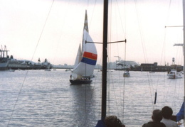 americas cup yachts 1992 14