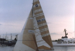 americas cup yachts 1992 22