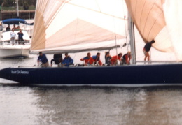 americas cup yachts 1992 31