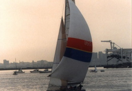 americas cup yachts 1992 34