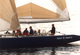 americas cup yachts 1992 36