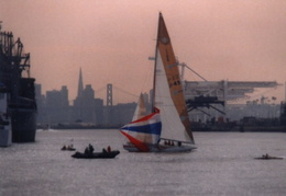 americas cup yachts 1992 38