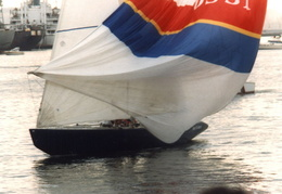 americas cup yachts 1992 45
