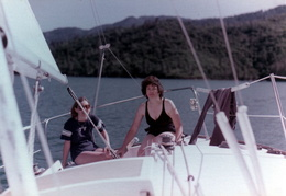 sailing whiskeytown lake 1982 4