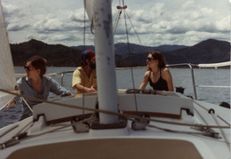sailing whiskeytown lake 1982 7