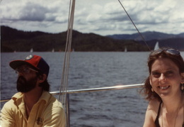 sailing whiskeytown lake 1982 8