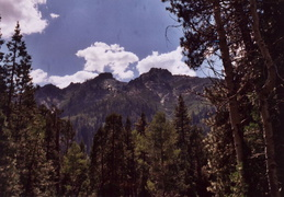 trinity alps backpacking 2003 07