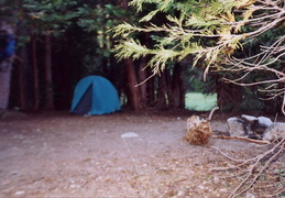 trinity alps backpacking 2003 09