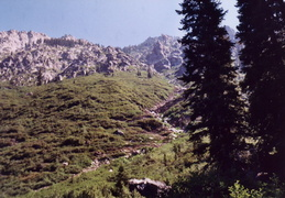 trinity alps backpacking 2003 16