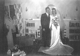 bob and lois mattson wedding 1944 2