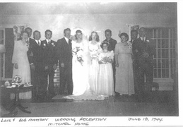 bob and lois mattson wedding 1944 3