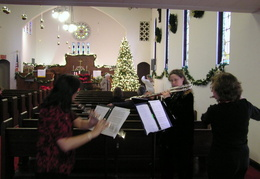 xmas 2006 first congregational church 007