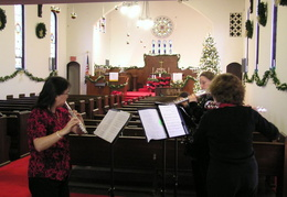 xmas 2006 first congregational church 010